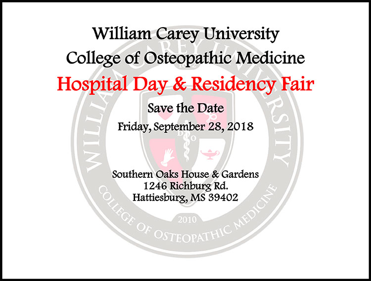 Residency Fair Flyer