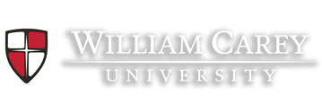 William Carey University Crest Logo